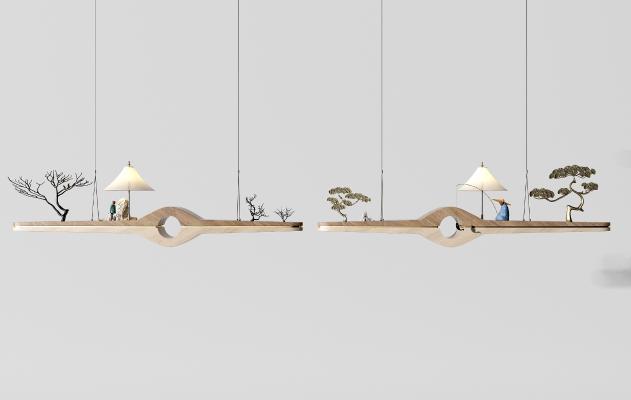 新中式吊灯 台灯 壁灯