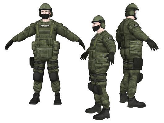 现代警察 特种兵