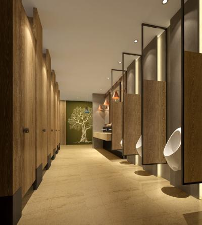 现代酒店卫生间