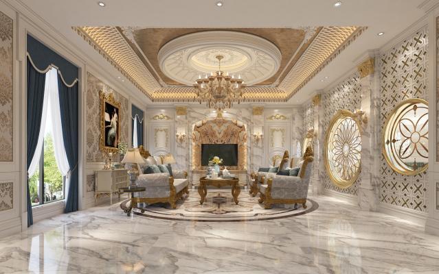 法式风格休闲厅