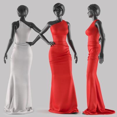 现代人物模特 人体装饰摆件 女人雕塑
