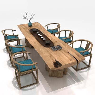 新中式茶桌椅 根雕茶桌 中式茶桌