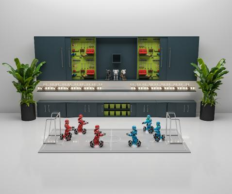 现代工业设备 工具 工具柜 工具墙
