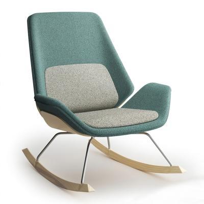 现代布艺摇椅