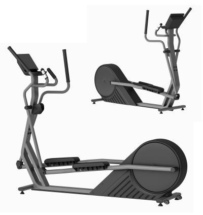 现代健身器 椭圆机