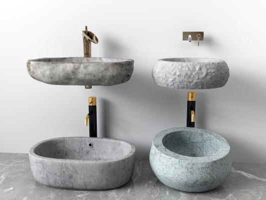 现代洗手盆 台盆
