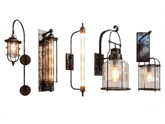 工业风壁灯