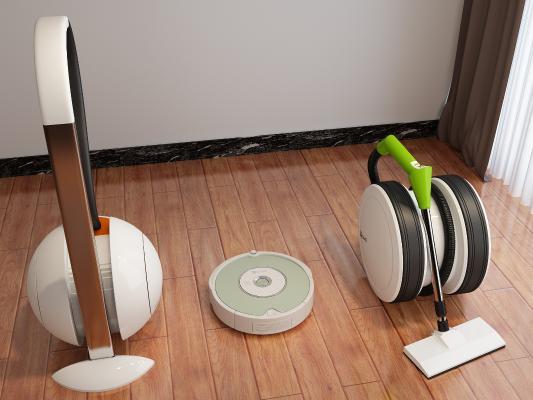现代扫地机器人 吸尘器