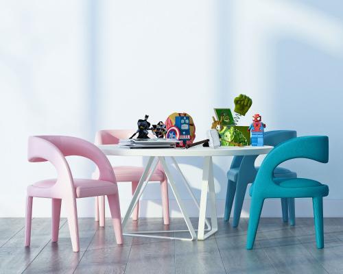 现代儿童桌椅