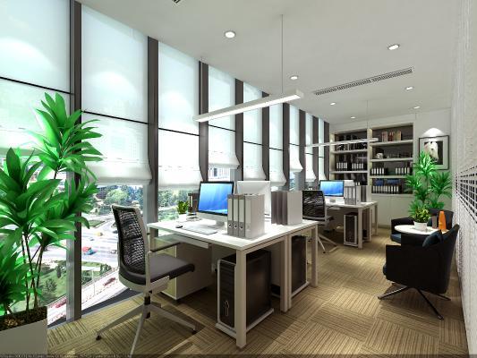 现代办公室 财务室 经理室