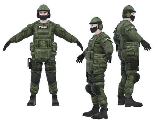 现代特种兵 军人