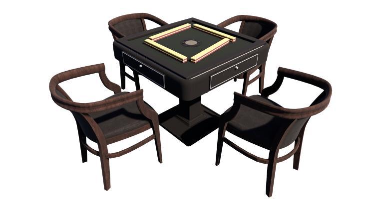 现代麻将机 麻将桌