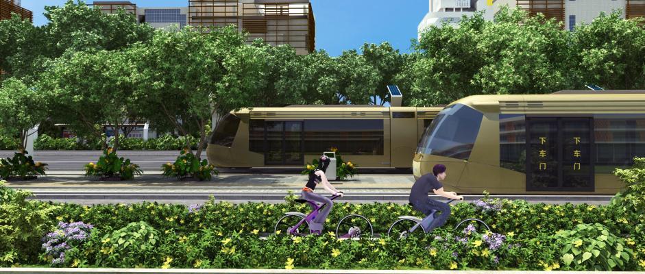 现代轻轨电车