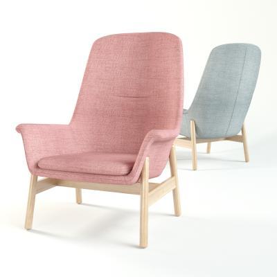 北欧风格单人沙发 休闲沙发