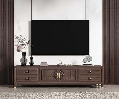 新中式 電視柜