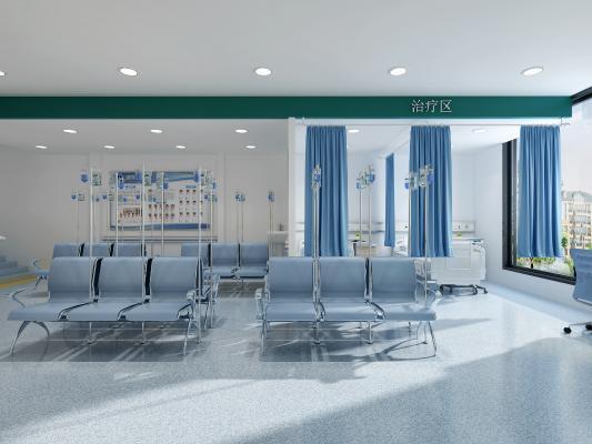 现代医院大厅