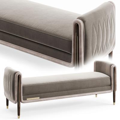 现代沙发凳 长凳 床尾凳