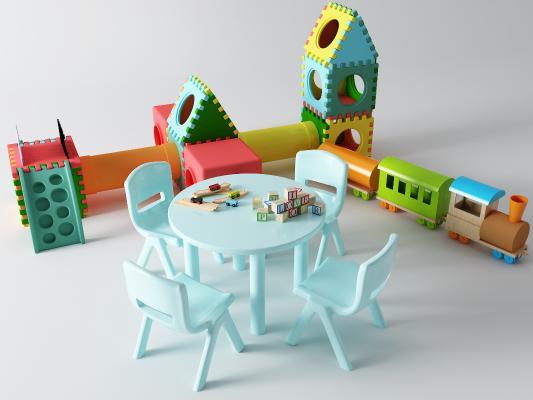现代儿童桌 玩具