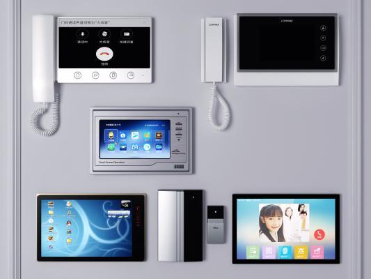 现代可视电话 门禁机 视频对讲机