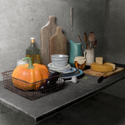 后现代厨房用品 菜板 奶酪