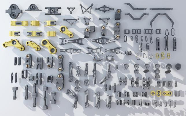现代机械零件
