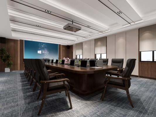 现代风格时尚会议室