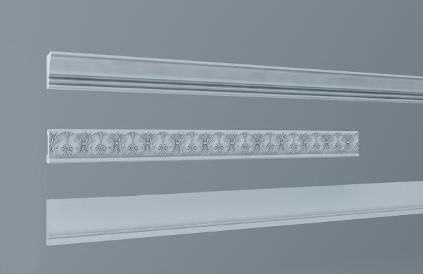 欧式线条 角花 石膏线