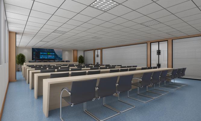现代医院 会议室 办公室 洽谈区