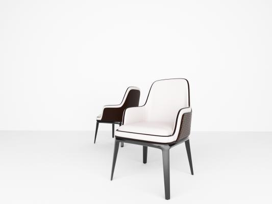 现代风格单椅 餐椅 书桌椅 休闲椅