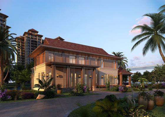 东南亚独栋别墅外观