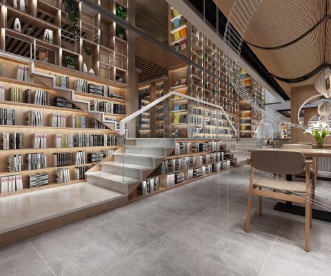 现代书吧 图书馆