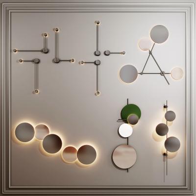 现代壁灯挂饰组合