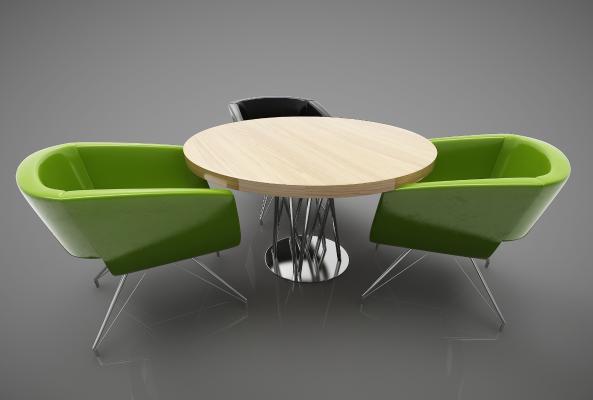 现代风格休闲桌