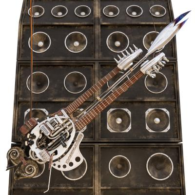工業風電吉他
