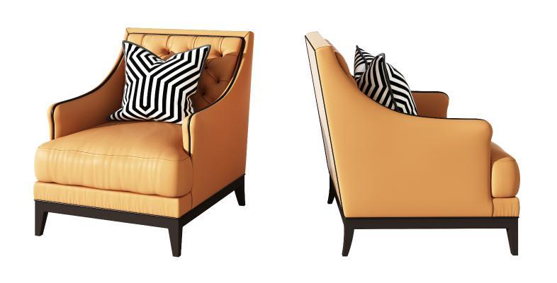 現代皮質單人休閑沙發椅,現代創意沙發,客餐廳沙發,臥室沙發
