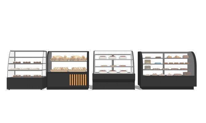现代蛋糕柜 面包柜