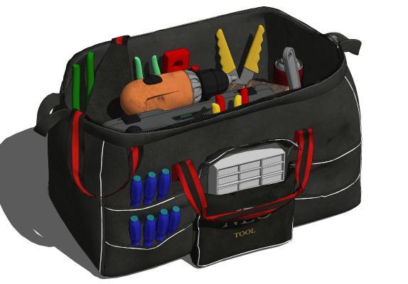 现代工具包 木工钉包 冲击钻 五金工具