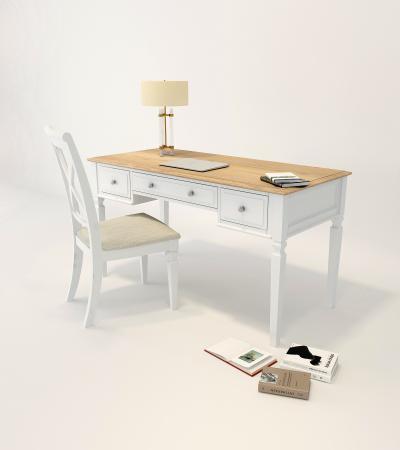 简欧书桌椅 家具