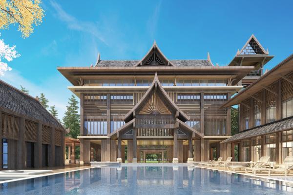东南亚别墅外观
