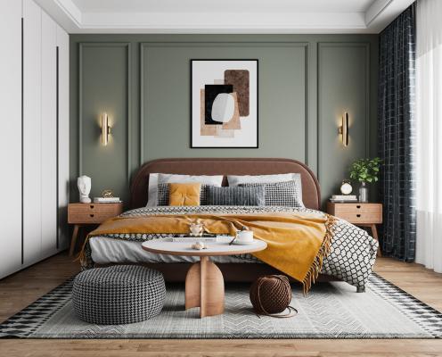 Noric-Bed-Room现代卧室