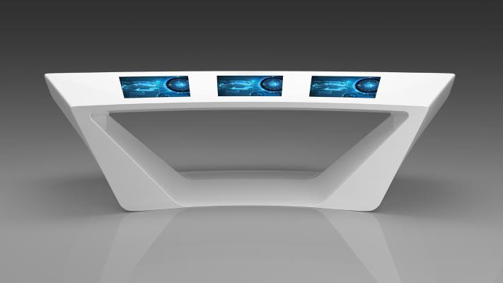 现代智能机器 体验台