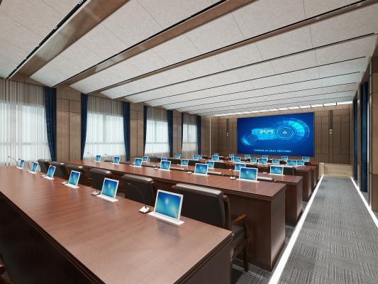 现代风格会议室 报告厅