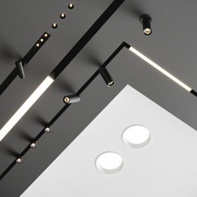 现代导轨射灯 筒灯 灯条