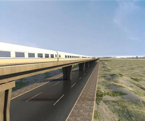 現代輕軌 高鐵 軌道