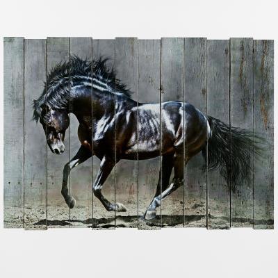 现代墙饰 装饰画 马
