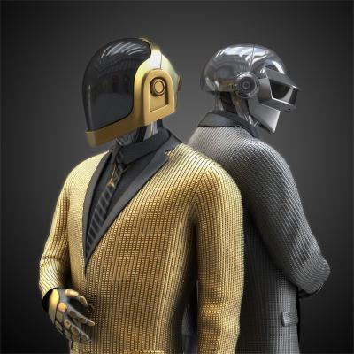现代风格人物 头盔 游戏角色