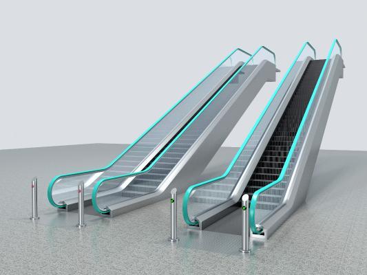 现代电动扶梯
