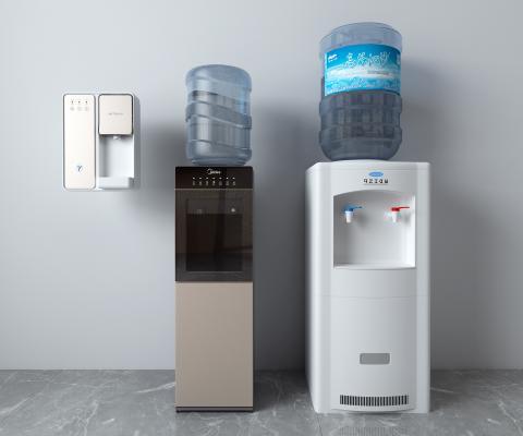 现代饮水机 矿泉水