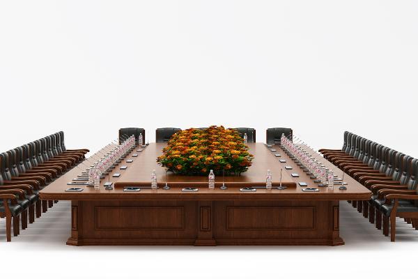 现代风格会议桌 会议椅