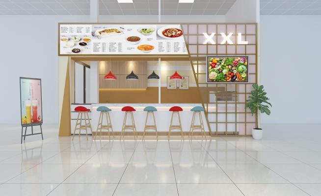 现代风格餐饮店面